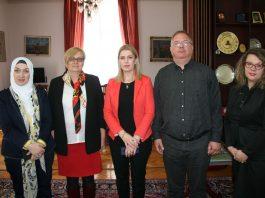 Posjeta delegacije RAP Poslovna žena Univerzitetu u Sarajevu