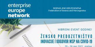 """U susret hibridnom događaju godine: """"Žensko preduzetništvo-inovacije i odgovori na pandemiju COVID-19"""""""